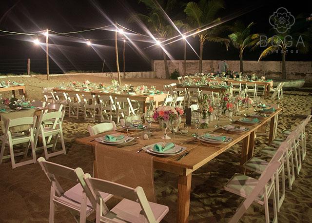 organizacion de bodas | boga eventos bodas en la playa | banquetes
