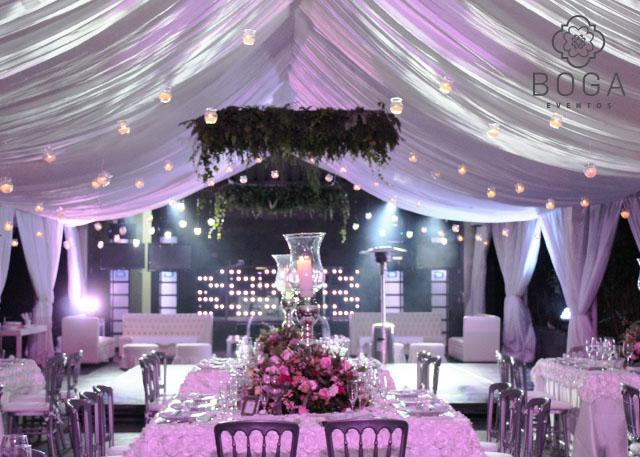 Decoraci n bodas organizaci n de eventos boga eventos for Decoraciones para 15 anos modernas