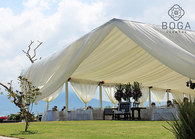 Organizaci n de eventos toldos boga eventos fiestas xv a os bodas en la playa bodas - Toldos para la playa ...